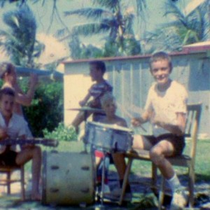 Jaco playing the drums